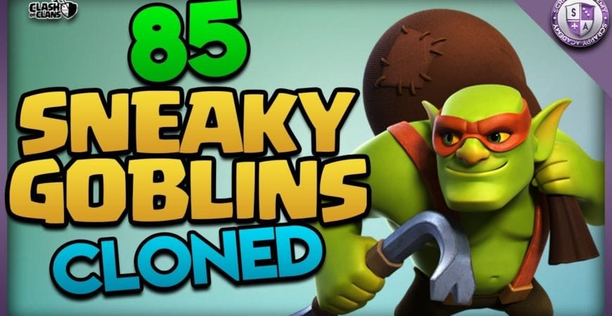 Sneaky Goblin Army [Cloned] | TH11 Farming by Scrappy Academy