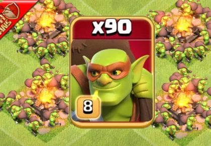 SNEAKY GOBLINS GRAB LOOT & SMASH TOWN HALLS – Clash of Clans by Clash Bashing!!