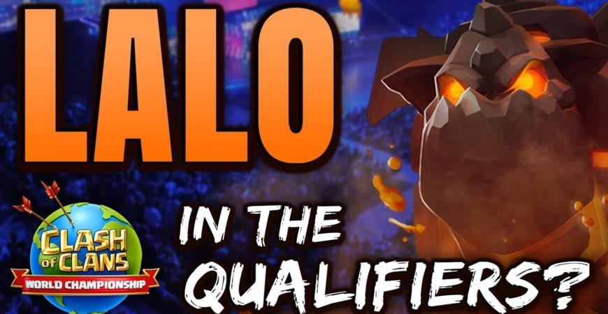 TOWN HALL 13 AIR ATTACKS, J' OFF USING LALO IN THE WORLD CHAMPIONSHIPS by Time 2 Clash