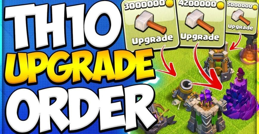 Which Defenses To Upgrade First at TH10 | New To TH10 Upgrade Priority Guide in Clash of Clans by Clash Attacks with Jo