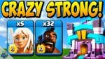 #1 BEST HOG RIDER ATTACK STRATEGY at TH13 is Queen Charge Hogs! | Town Hall 13 by Clash With Cory