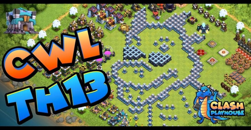 CWL TH 13 Hybrid how and why it tripled | Clash of Clans by Clash Playhouse
