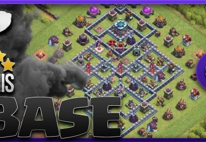 How to THREE STAR TH13 [DIAMOND BASE] | Town hall 13 Best Attack Strategy in Clash of Clans by Scrappy Academy