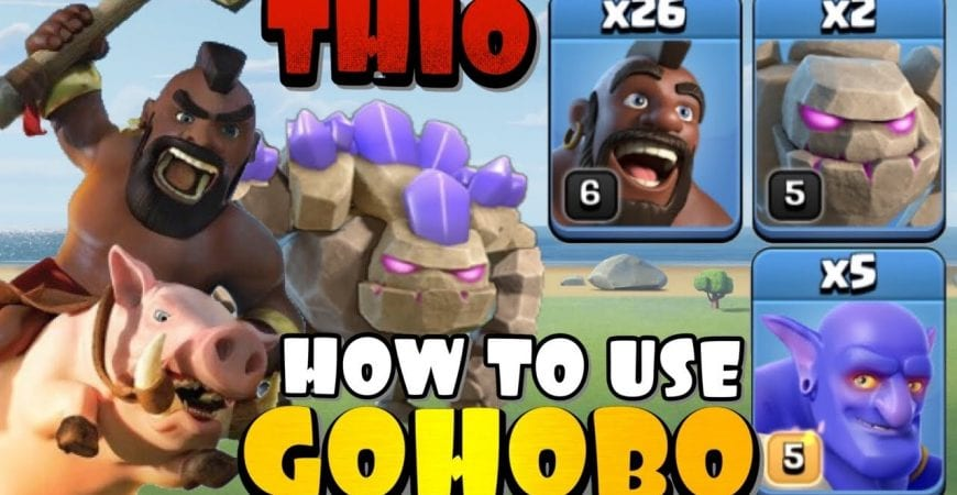 ANYONE CAN DO THIS! TH10 GOHOBO Attack Strategy – Best TH10 Attack Strategies in Clash of Clans by Clash with Eric – OneHive