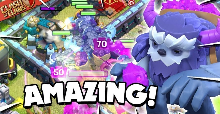 YetiBat is the META! How to use YetiBat Attack Strategy at TH13 (Clash of Clans) by Judo Sloth Gaming