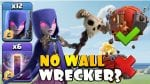 BAT SLAP with a BLIMP? NO WALL WRECKER! Then TH12 War Attacks with QC Hybrid | Clash of Clans by Clash with Eric – OneHive