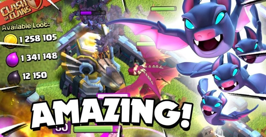 DragBat Worth Millions! How to use the DragBat TH13 Attack Strategy (Clash of Clans) by Judo Sloth Gaming