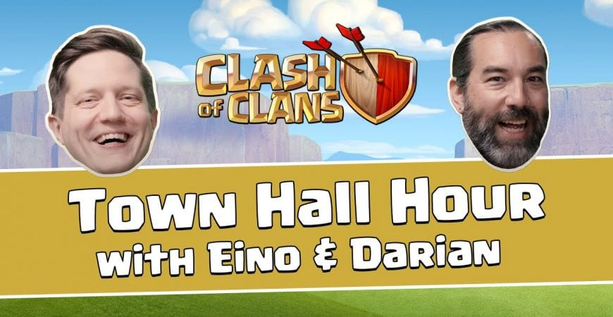 Clash of Clans – Town Hall Hour with Eino & Darian by Clash of Clans