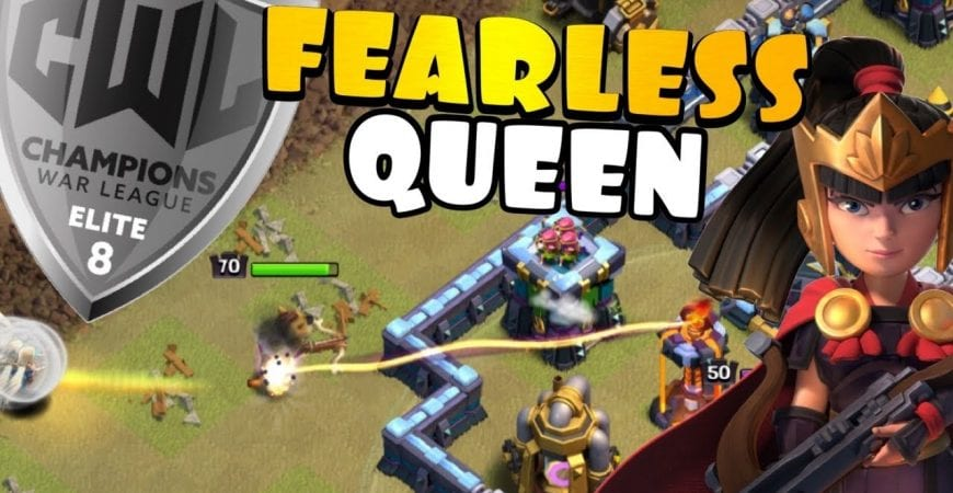 I'M NOT SCARED! CHARGING SINGLE INFERNOS – OneHive vs Blue Valks | CWL Elite | Clash of Clans by Clash with Eric – OneHive