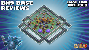 *SUPERB* Builder Hall 9 (BH9) Base – With BH9 BASE LINK – Clash of Clans by Sir Moose Gaming