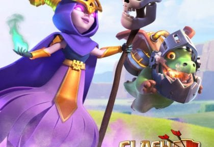 Welcome the Super Witch and Inferno Dragon! (Clash of Clans Summer Update) by Clash of Clans