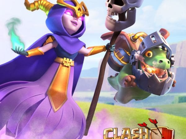 New Super Troops: Inferno Dragon and Super Witch – Clash of Clans