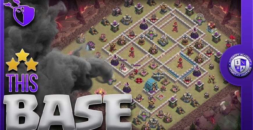3 Star Popular [TH12] War Base | Pekka BoBat Attack Strategy | Clash Of Clans by Scrappy Academy