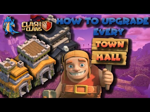 How to upgrade every Town Hall in Clash of Clans | Clash of Clans by Clash Playhouse