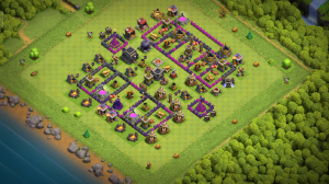 Th8 best base for trophy and war