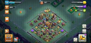 Bulder Hall 7 push base past 2800 trophies with