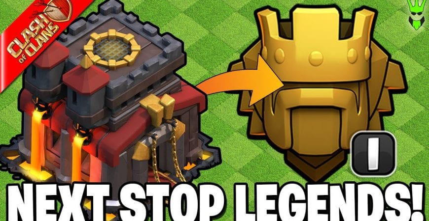 HITTING TITANS 1 WITH A NEW DEFENSIVE BASE!! by Clash Bashing!!