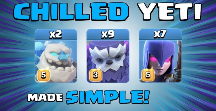 CHILLED YETI = SO GOOD, IT'S BAD – EASY TH13 Attack Strategy – Clash of Clans by Sir Moose Gaming