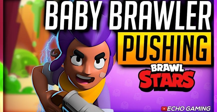 Brawl Stars Gaining Trophies with NEW Players by ECHO Gaming