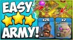 This Army Is So Easy! TH10 GOHOBO Attack Strategy | Best Three Star TH10 Attack in Clash of Clans by Kenny Jo