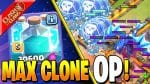 MAX CLONE SPELL MAKES ELECTRONE OP!! by Clash Bashing!!
