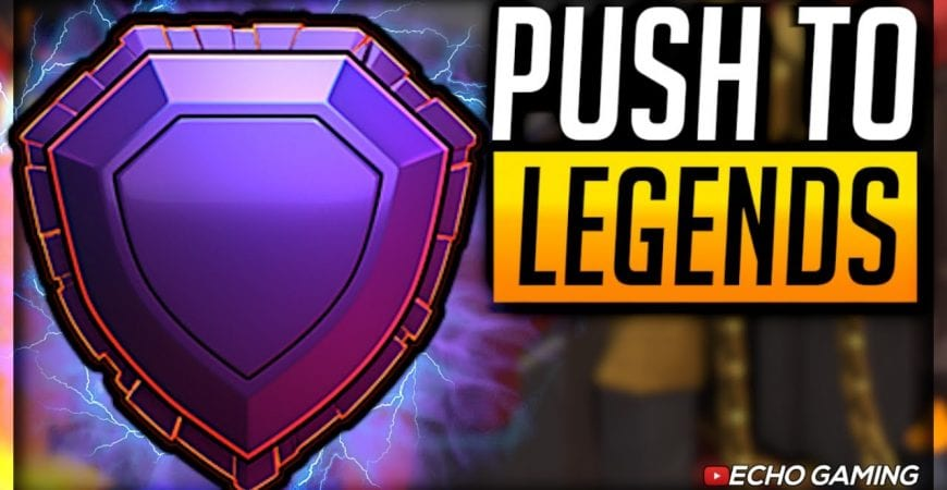 Push Your Town Hall 10 to Legends League with THIS Attack by ECHO Gaming