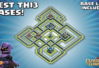 POWERFUL NEW Town Hall 13 (TH13) Champs Base – With TH13 Copy Link – Clash of Clans by Sir Moose Gaming
