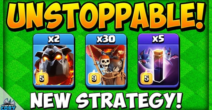 🔥LALOON BAT🔥 UNSTOPPABLE NEW TH13 ATTACK STRATEGY! BEST Town Hall 13 War Strategy 2020 | TH 13 by Clash With Cory