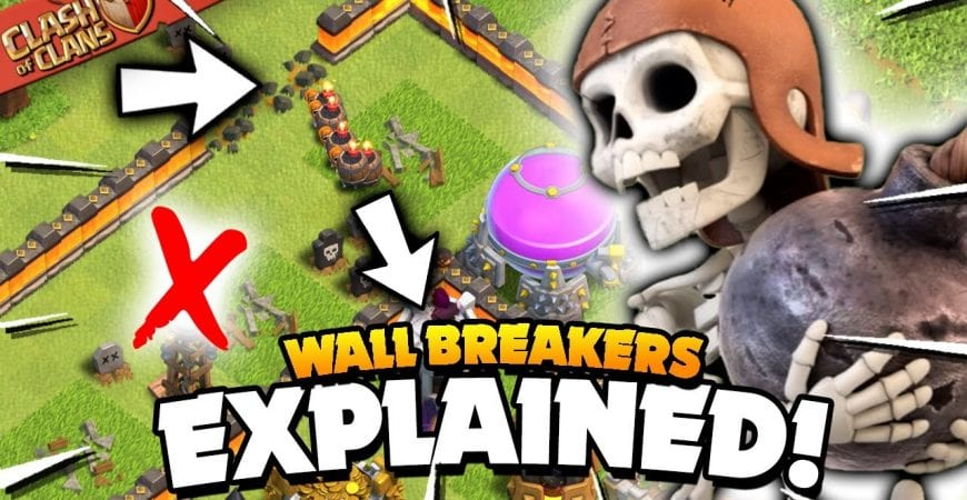Wall Breakers Explained – Basic & Advanced Tips (Clash of Clans) by Judo Sloth Gaming
