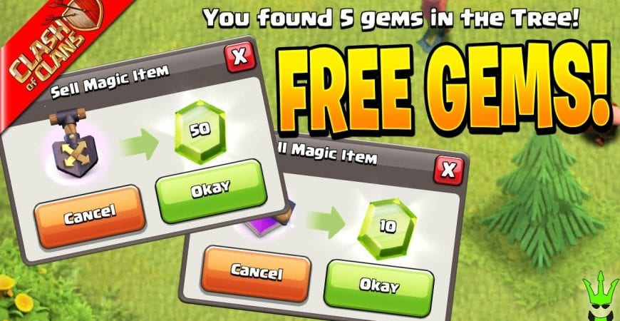 Where to find *FREE GEMS* when you need them! by Clash Bashing!!