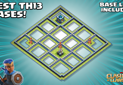 *REALLY TOUGH* Town Hall 13 (TH13) Base – With TH13 Base Link – Clash of Clans by Sir Moose Gaming