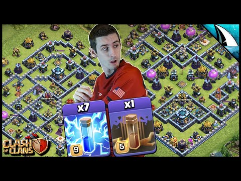 Breakdown of the Zap Lalo! It's Legend Time | Clash of Clans by CarbonFin Gaming