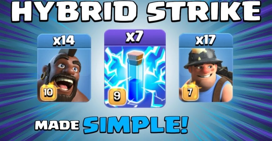 ELECTRO HYBRID MADE SIMPLE! OVERPOWERED TH13 Attack Strategy | 3 Star Attack | Clash of Clans by Sir Moose Gaming