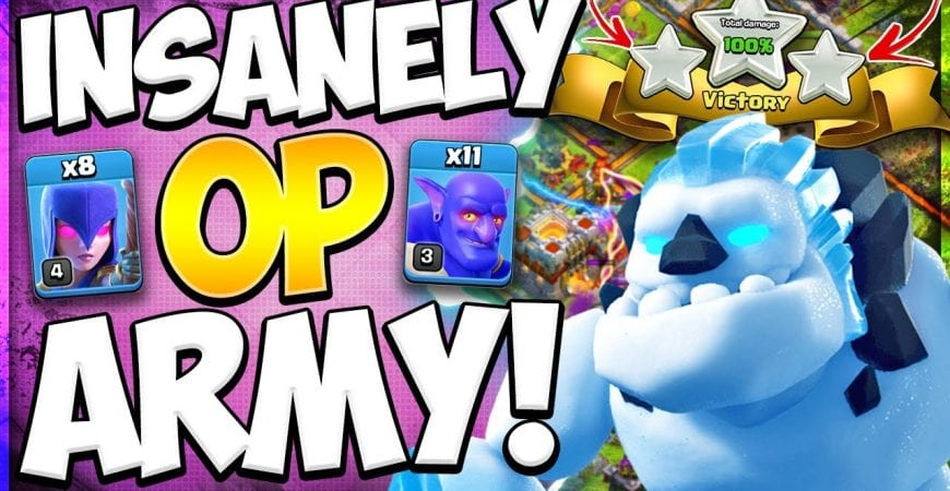 Easiest TH11 Attack Strategy You Will Ever Learn! Best Witch Army For War in Clash of Clans by Kenny Jo