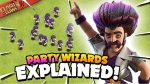 Everything to Know about Party Wizards (Clash of Clans) by Judo Sloth Gaming