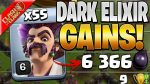 MASS PARTY WIZARDS DANCE TO *EASY* DARK ELIXIR GAINS! – Clash of Clans by Clash Bashing!!