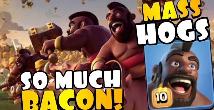 BRING HOME THE BACON! TH13 MASS HOGS in CWL Champion 1 | Best TH13 Attacks in Clash of Clans by Clash with Eric – OneHive