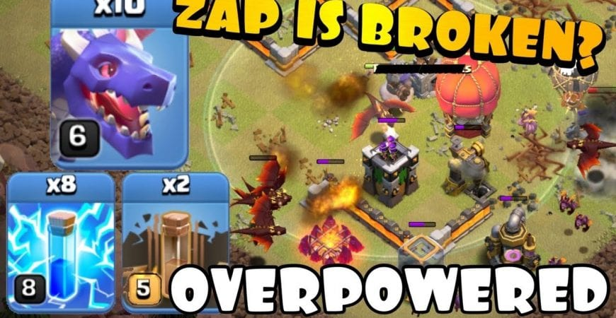 ZAP makes TH11 TOO EASY?! TH11 Zap Quake Dragons | Best TH11 Attack Strategies in Clash of Clans by Clash with Eric – OneHive