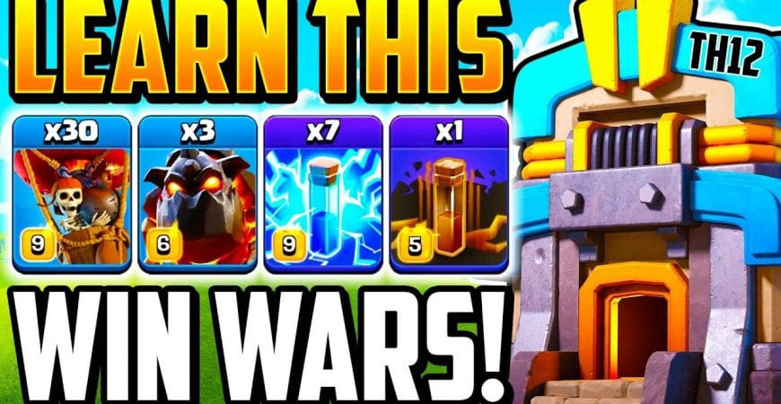 HOW TO USE ZAP LAVALOON TH12 ATTACK STRATEGY! Best New Town Hall 12 Attack in 2020 | TH 12 | COC by Clash With Cory