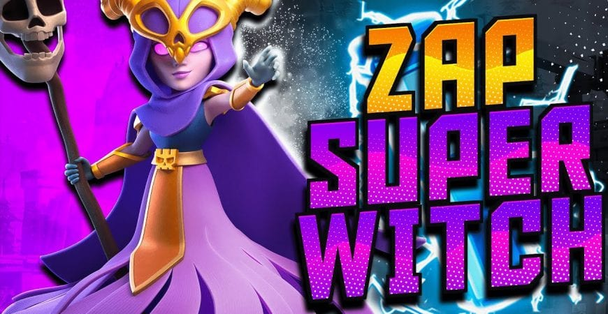 TH12 Zap Super Witch Breakdown – How to Use the Super Witch | Clash of Clans by CorruptYT