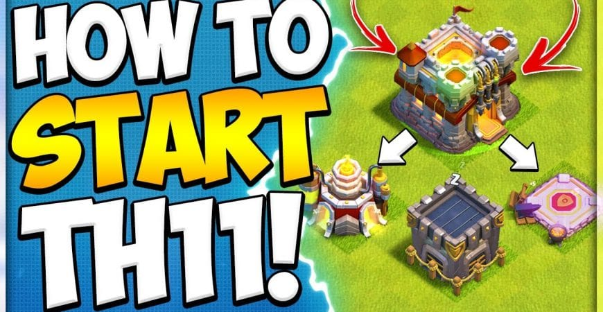 New to TH11 Upgrade Guide! How to Start Town Hall 11 in Clash of Clans by Kenny Jo