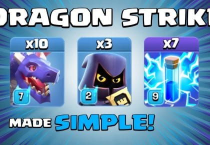 DEFEAT TH13 Bases with this NEW TH12 Attack Strategy – CWL & WAR Strategy – Clash of Clans by Sir Moose Gaming