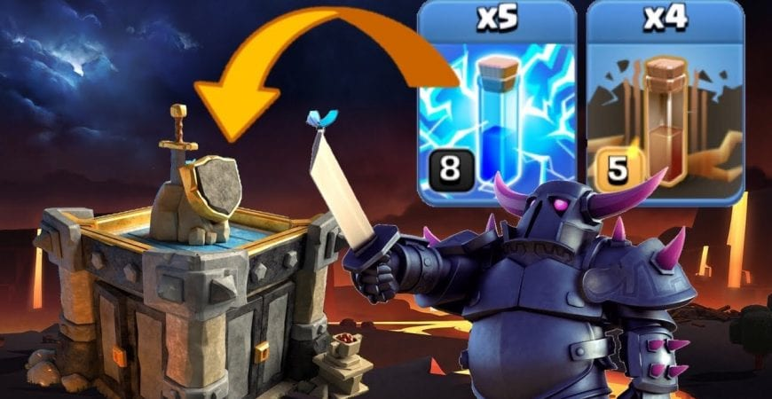 *NEW STRATEGY* 5x Lightning + Quad Quake Pekka Smash! Best TH11 Attack Strategies | No Siege Machine by Clash with Eric – OneHive