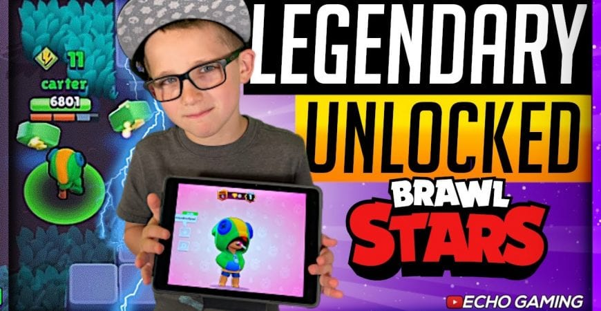 Legendary Brawler Unlocked in Brawl Stars by ECHO Gaming