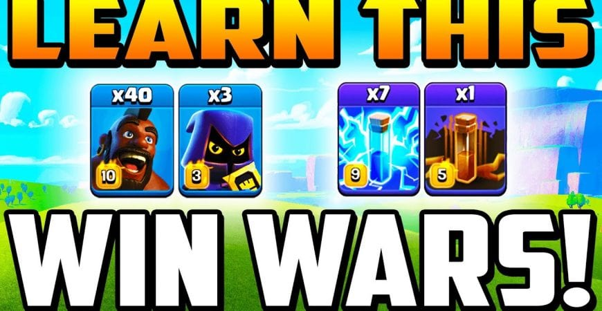 MUST KNOW! NEW ZAP HOG ATTACK STRATEGY in Clash of Clans! Best New Strategies in COC 2020 by Clash With Cory