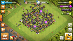 Dink's Anti 2-3 star base  town hall 8