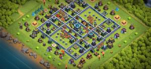 Anti 3 star th13 base