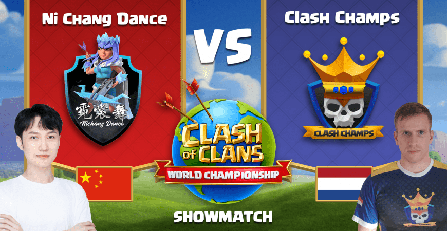 Clash Champs Showmatch Base Links: World Championship #4 Qualifiers: Clash of Clans