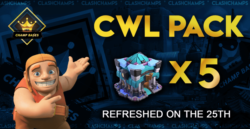 CWL Pro Base Starter Pack – Limited Edition