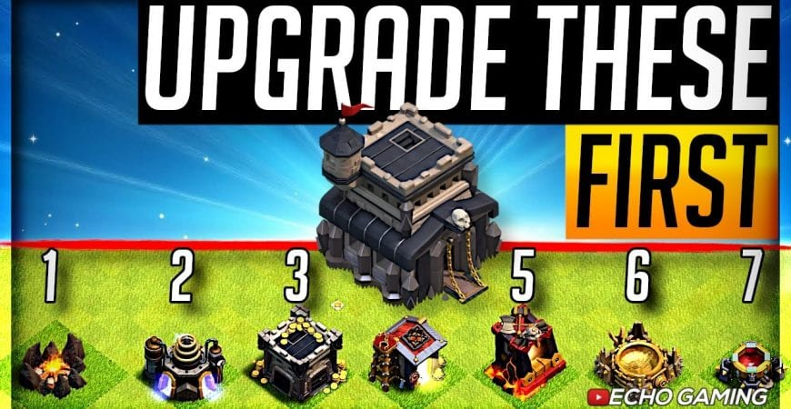 You NEED to Upgrade this FIRST at Town Hall 9 by ECHO Gaming